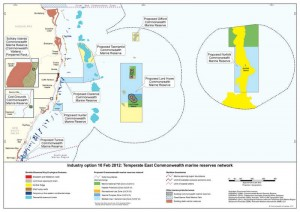 Temperate East Marine Reserve Network - Industry Proposal